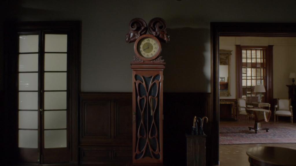 「フィロリーとその先」の時計