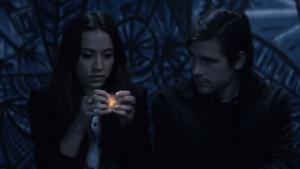 Quentinに自分の魔法を見せるJulia
